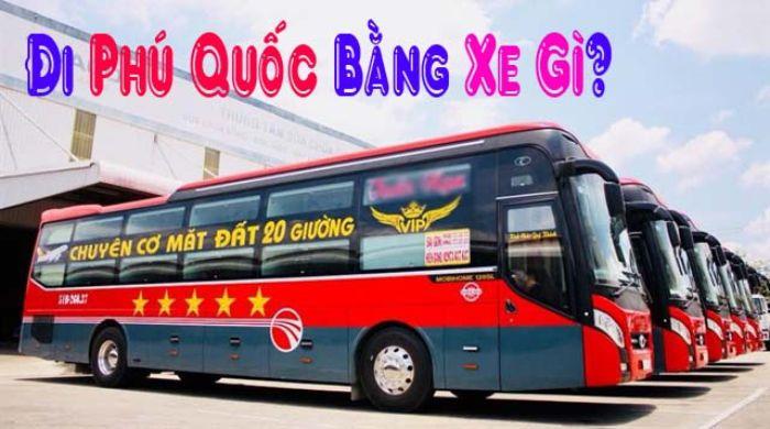 Đi xe khách đến du lịch Phú Quốc