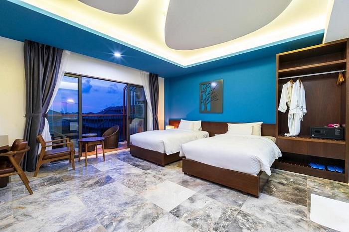 Phòng nghỉ tại Mojo Boutique Hotel