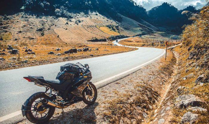 Xe máy là lựa chọn hàng đầu của các bạn trẻ khi du lịch tại Mộc Châu