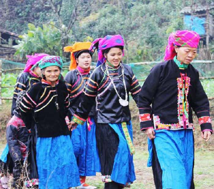 Người Pu Péo sinh sống tại Hà Giang có số lượng chỉ hơn 600 người
