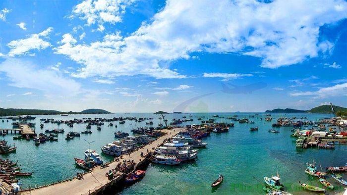 Đường đi đến Hàm Ninh