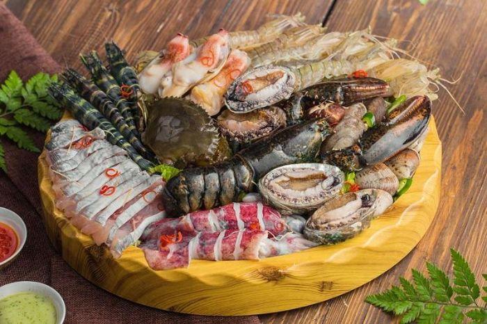 Món Lẩu nhúng Hải sản đậm đà chất quê