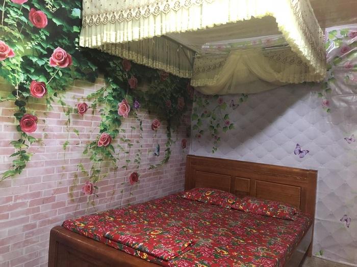 Phòng nghỉ tại 2A Homestay Trần Hưng Đạo, Yên Minh, Hà Giang