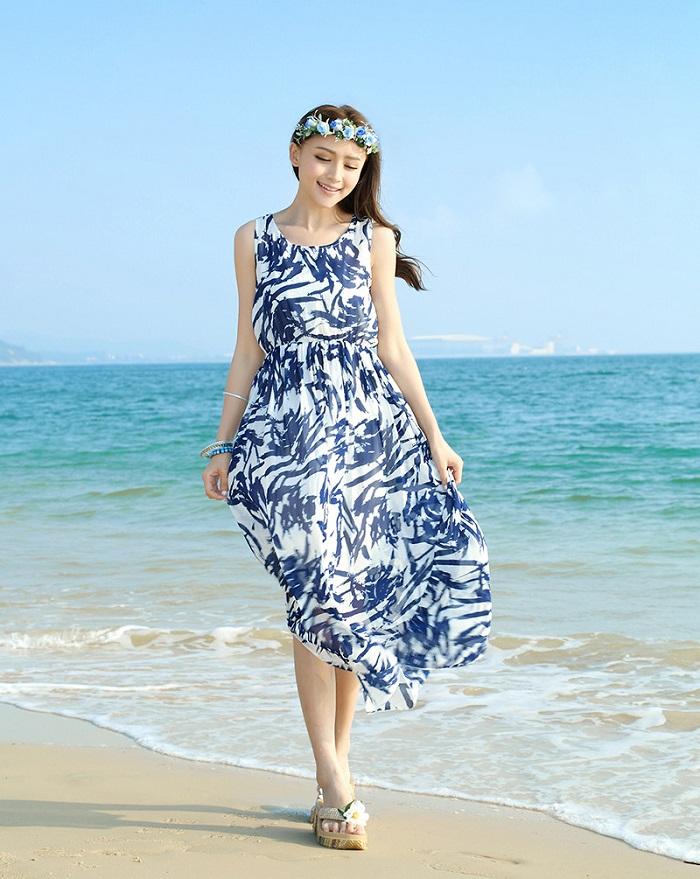 chiếc váy maxi