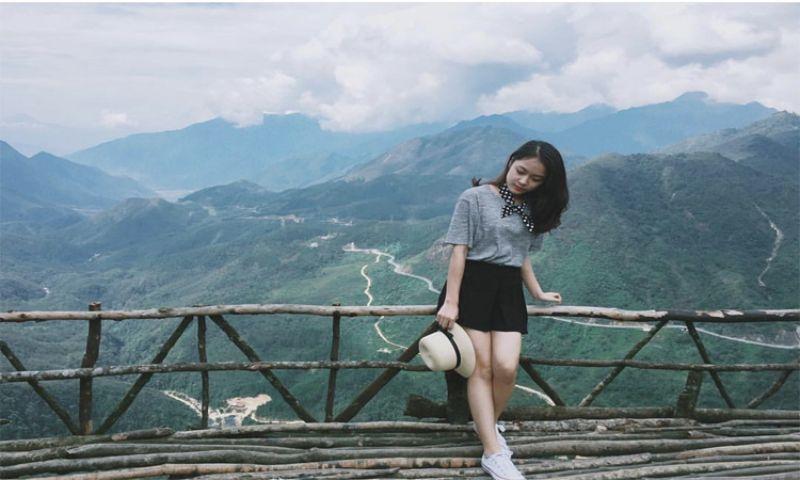 Ngắm đỉnh Ô Quy Hồ