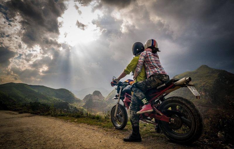 Sử dụng xe máy để lên Sapa