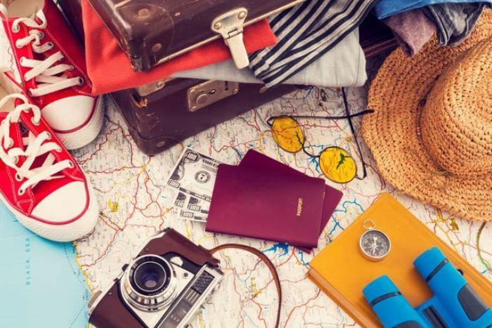 Các vật dụng khi đi du lịch