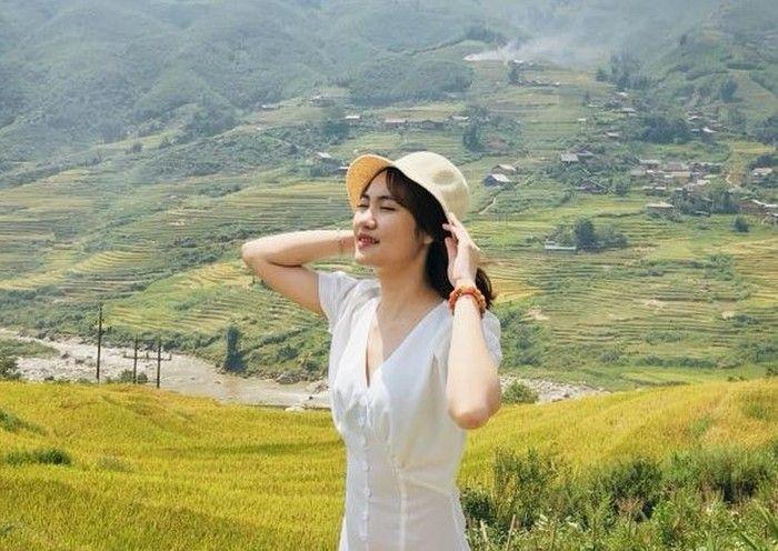 Các bạn nữ có thể diện những chiếc váy ngắn tay khi đi du lịch Sapa tháng 6
