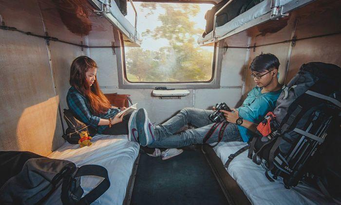 Du lịch Sapa cực kỳ yên tâm khi đi bằng tàu hỏa