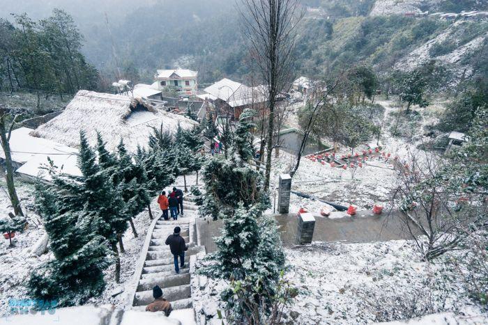 Ghé thăm Bản làng Sapa vào những ngày trời đông