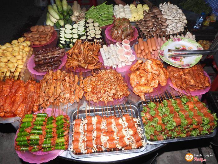 Khu ẩm thực chợ mới Sapa nổi tiếng với những món ăn ngon