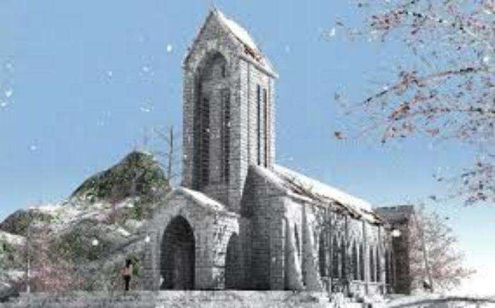 Nhà thờ đá Sapa - các điểm du lịch sapa