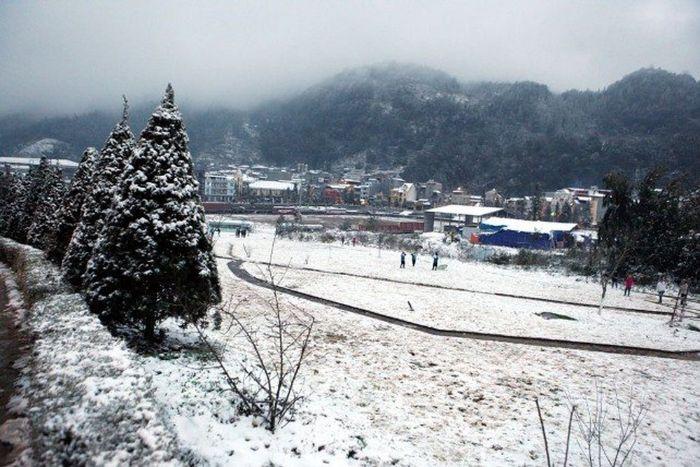 Thời tiết Sapa tháng 1