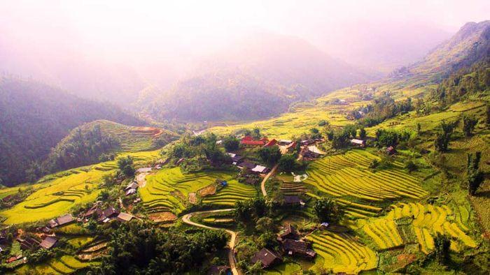 Thung Lũng Mường Hoa đẹp hút hồn các du khách du lịch Sapa