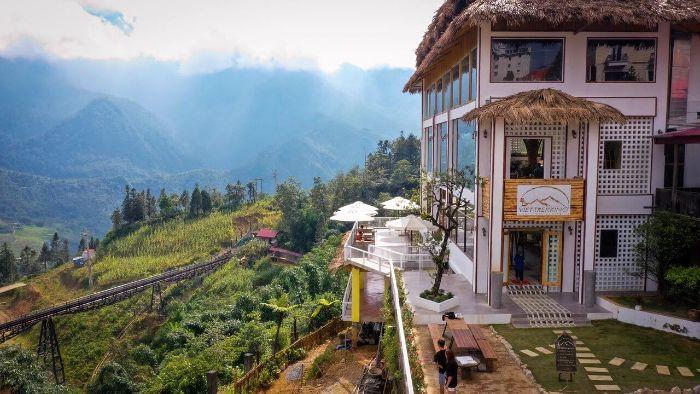 Thưởng thức view Sapa cực đẹp tại VietTrekking Sapa Homestay