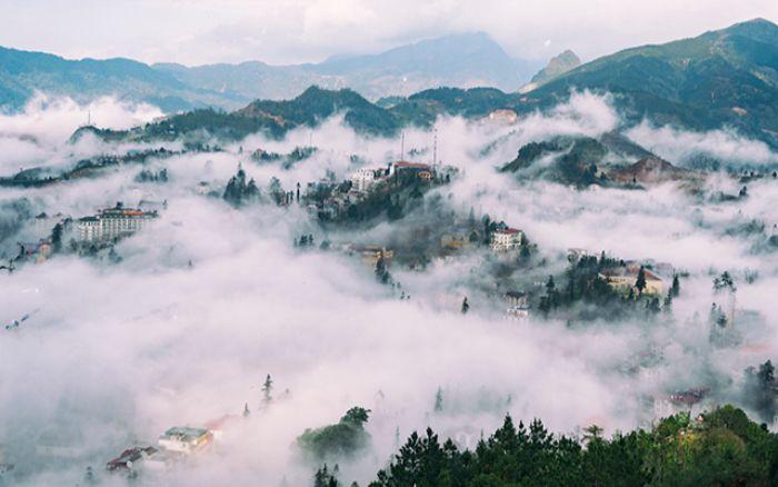 Cảnh đẹp cuối thu đầu đông của SaPa