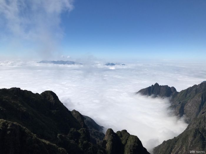Biển mây trên đỉnh Fansipan