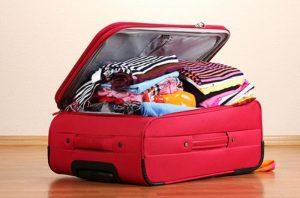 Không nên mang đi quá nhiều hành lý