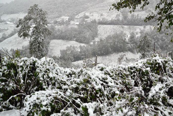 Du lịch Sapa mùa đông sẽ cho bạn cơ hội được ngắm tuyết rơi