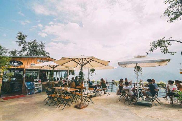 Sapa có rất nhiều quán cafe có view đẹp