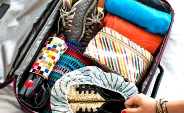 Trang bị thầy đầy đủ hành lý