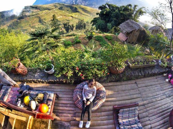Khách sạn view đẹp hút hồn Eco Palms House