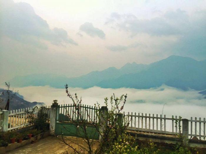 Biển mây ấn tượng tại Viettrekking Homestay