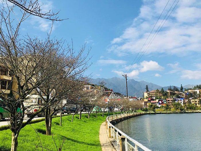 Hồ Sapa có vẻ đẹp lãng mạn như trong các bộ phim Hàn Quốc