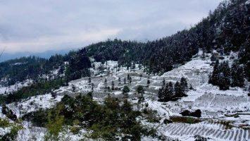 Du lịch Sapa mùa đông có thể ngắm tuyết rơi trắng trời