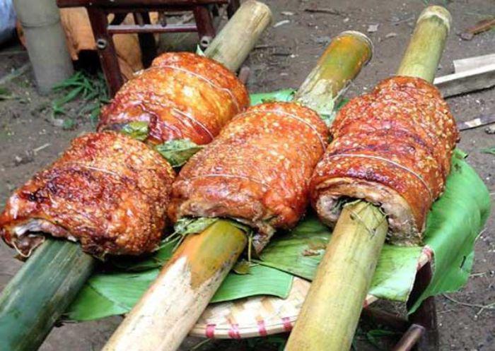Lợn cắp nách - món ăn du lịch Sapa tháng 1