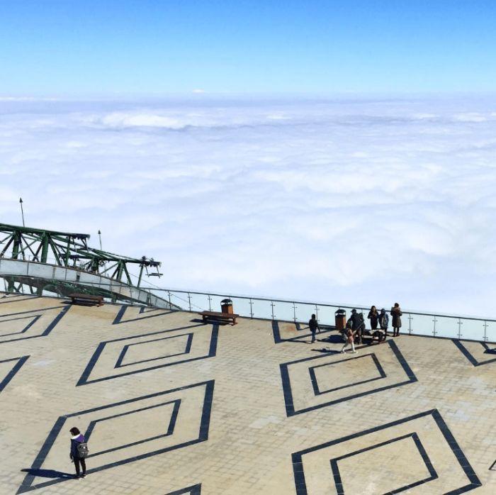 Biển mây ở Fansipan Legend