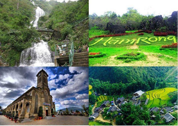 Núi Hàm Rồng - Địa điểm du lịch Sapa nên đến