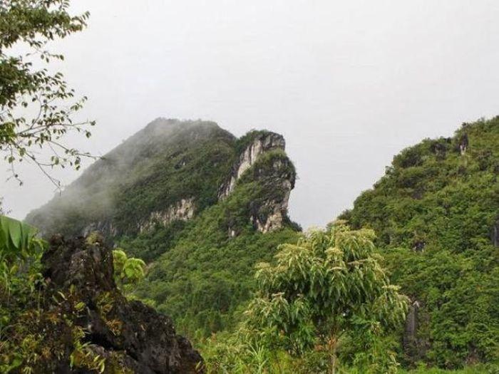 Núi Hàm Rồng- Điểm du lịch Sapa hút khách tháng 3
