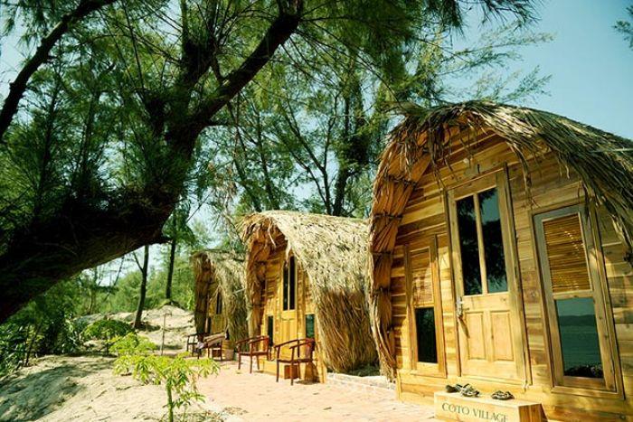 Homestay thiết kế theo phong cách mộc mạc, hài hòa thiên nhiên