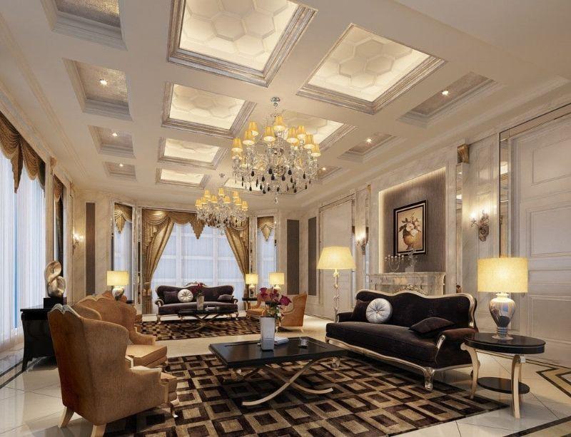 Phong cách thiết kế nội thất tân cổ điển là biến thể của phong cách thiết kế cổ điển nhưng đã lược bỏ bớt những chi tiết rườm rà, cầu kỳ