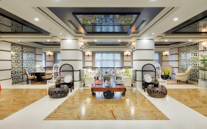 Khu vực sảnh thiết kế theo phong cách hiện đại