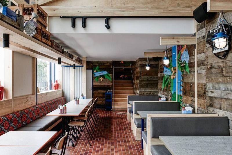 Phong cách quán cà phê Rustic