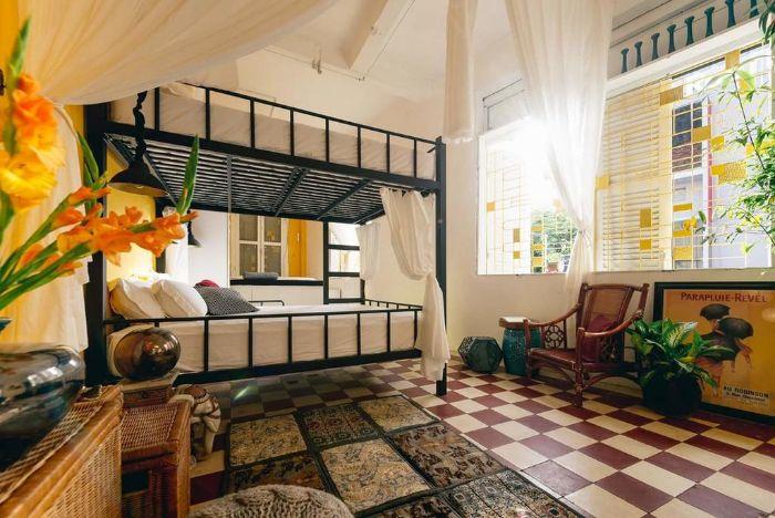Thiết kế nội thất homestay theo phong cách Rustic style