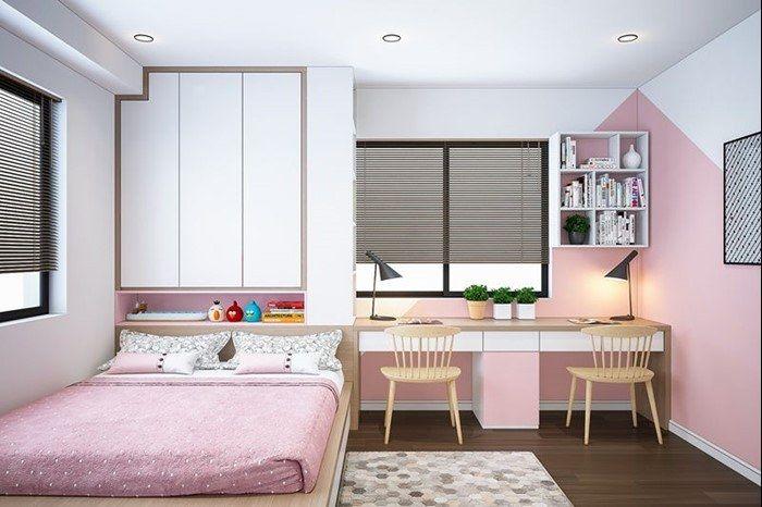 Bố cục nội thất trong phòng ngủ của bé cần đảm bảo tính an toàn