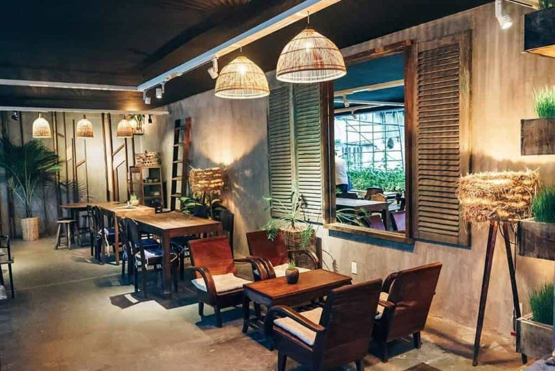 Phong cách Vintage – Phong cách quán cà phê hót nhất hiện nay
