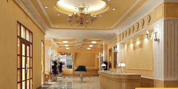 Sảnh một khách sạn tân cổ điển 2 sao