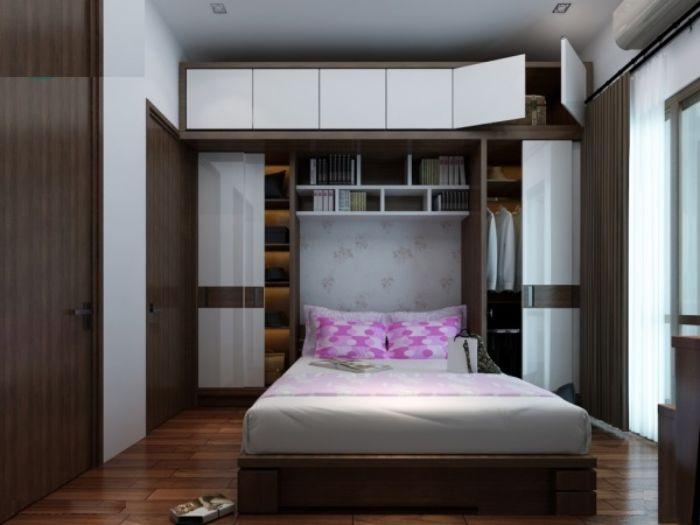 Nội thất phòng ngủ tiết kiệm diện tích