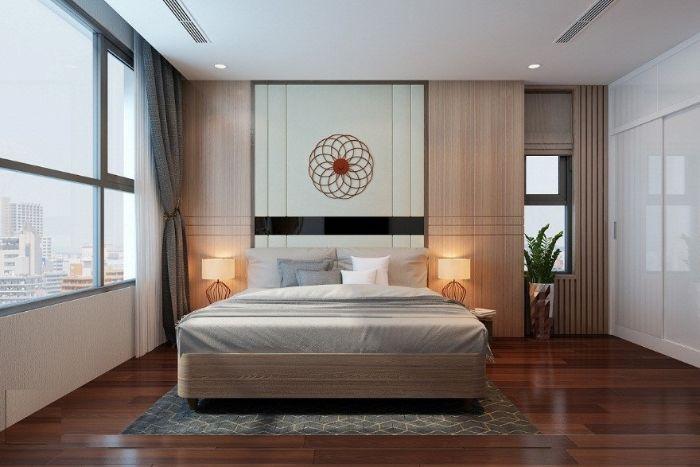 Nội thất cho phòng ngủ vợ chồng theo phong cách hiện đại