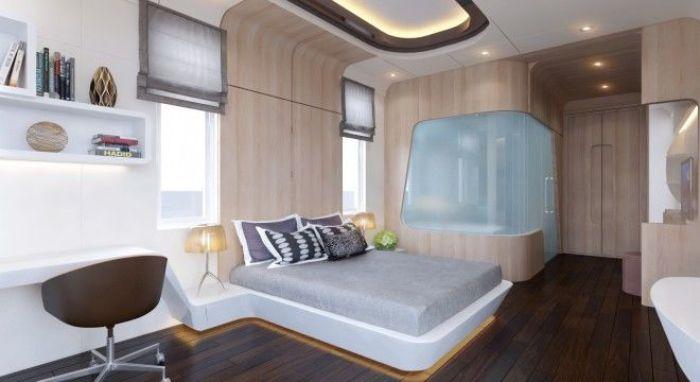 Phòng ngủ cho vợ chồng nội thất đơn giản