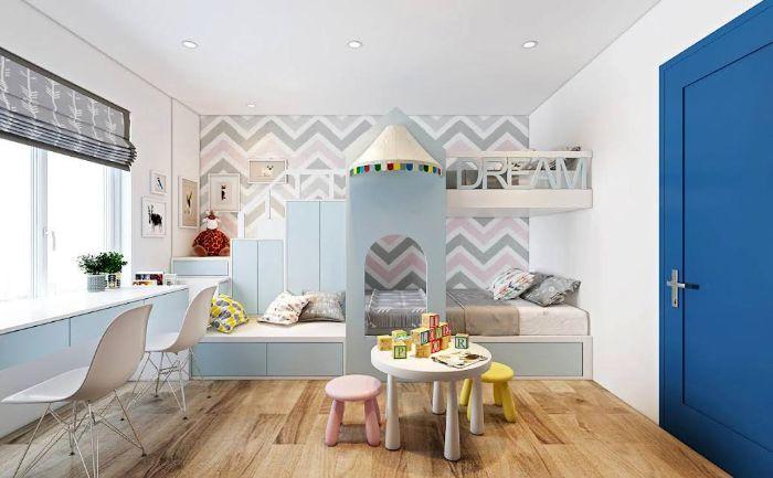 Phòng ngủ hiện đại và tinh tế cho bé
