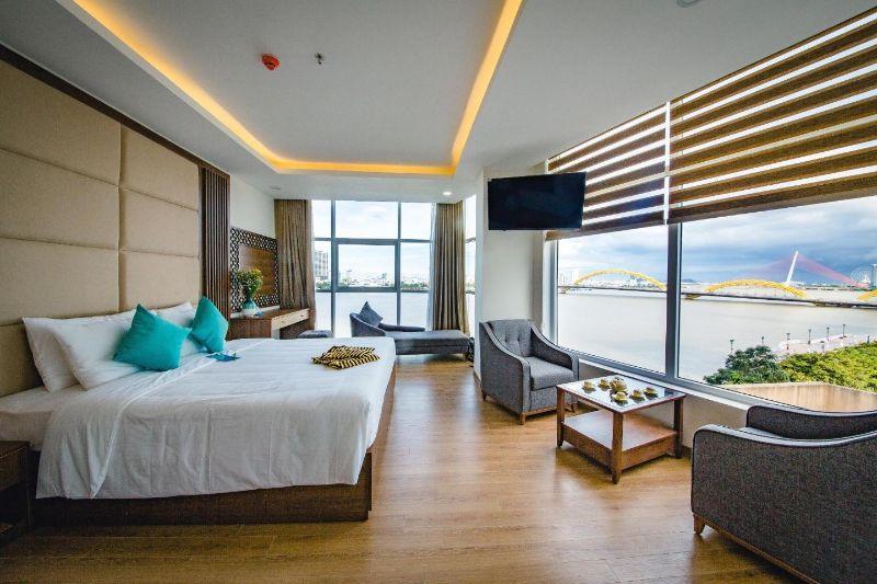 Phòng ngủ một khách sạn 3 sao ở Đà Nẵng