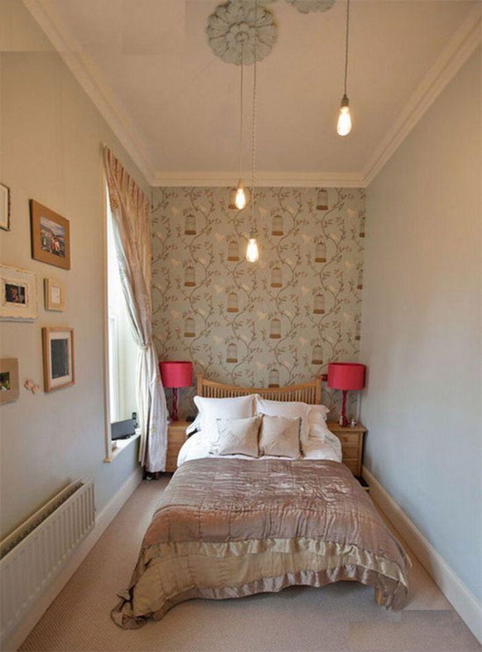 Phòng ngủ sử dụng nội thất đơn giản