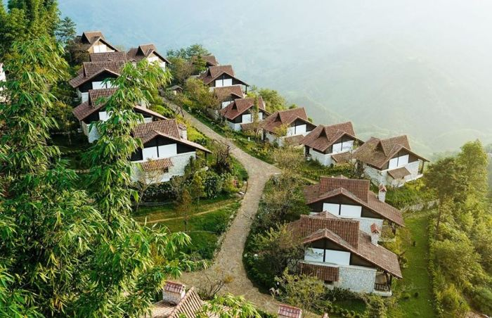 Resort ở Sapa - Sapa Jade Hill Resort