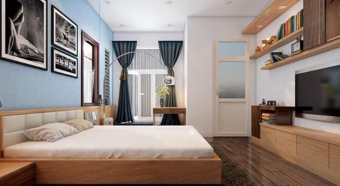 Thiết kế nội thất mang tính nghệ thuật cao