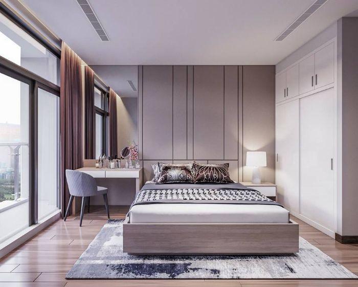 Thiết kế nội thất tinh tế cho phòng ngủ